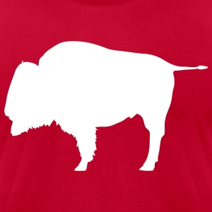 buffalo bison - Men's T-Shirt by American Apparel