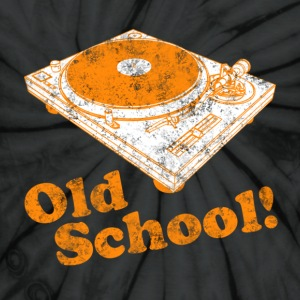 Turntable Old School T-Shirts - Unisex Tie Dye T-Shirt