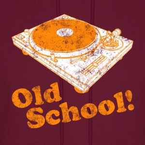 Turntable Old School Hoodies - Men's Hoodie