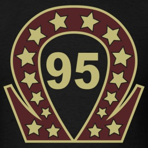 Omega '95 (Gold & Burgandy, Static) T-Shirts - Men's T-Shirt