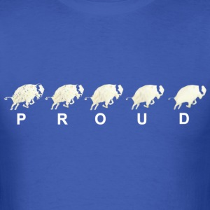 Fading Bison Buffalo Proud T Shirt - Men's T-Shirt