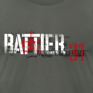 Battier - Minister of Defense - Men's T-Shirt by American Apparel