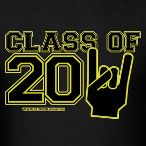 Graduation class of 2011 Black and gold T-Shirts - Men's T-Shirt