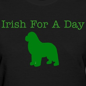 Irish Newf - Women's T-Shirt