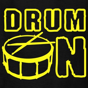 drum_on_a_1c Kids' Shirts - Kids' T-Shirt