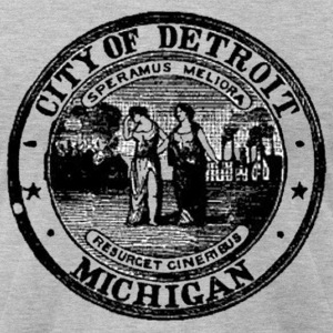 detroitseal T-Shirts - Men's T-Shirt by American Apparel