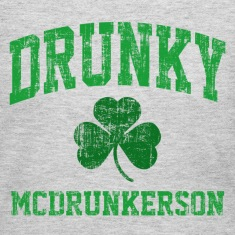 Drunky McDrunkerson Long Sleeve Shirts