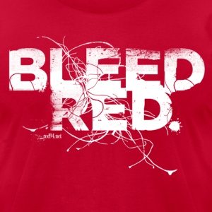 Bleed Red - Men's T-Shirt by American Apparel