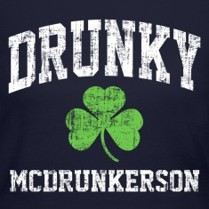 Drunky Mc Long Sleeve Shirts