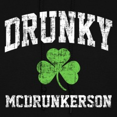 Drunky Mc Hoodies