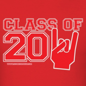 Class of 2011 Red and Grey T-Shirts - Men's T-Shirt
