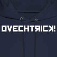 Design ~ Ovechtrick Men's Navy Hooded Sweatshirt