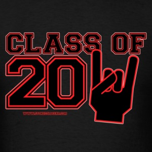 class of 2011 Graduation black and red T-Shirts - Men's T-Shirt