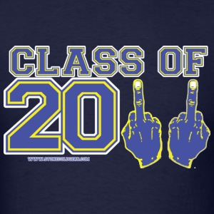 class of 2011 FU Blue and Yellow T-Shirts - Men's T-Shirt