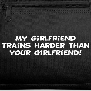My Girlfriend Trains Harder Athletic Wear - Duffel Bag