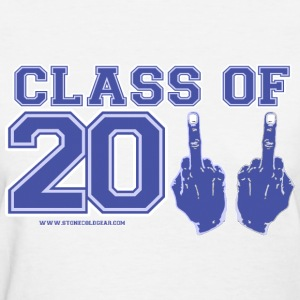 class of 2011 FU Blue and Grey Women's T-Shirts - Women's T-Shirt