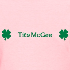 Tits Mcgee Women's T-Shirts