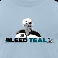 Design ~ Bleed Teal Patty Men's Light Blue AA Tee