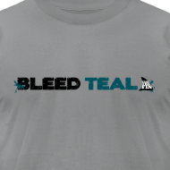 Design ~ Bleed Teal Men's Slate AA Tee