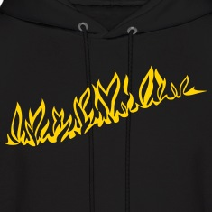 'BurningShirt' Men's Hooded Sweatshirt