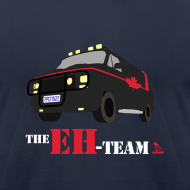 Design ~ The Eh Team Men's Navy AA Tee