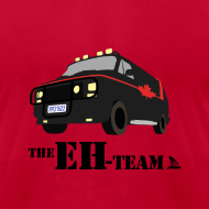 Design ~ The Eh Team Men's Red AA Tee
