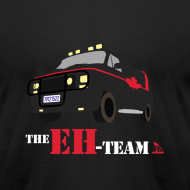 Design ~ The Eh Team Men's Black AA Tee