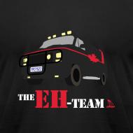 Design ~ The Eh Team Men's Black AA Tee