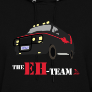 Design ~ The Eh Team Women's Black Hoodie