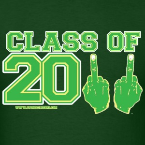 Class of 2011 FU graduation Green and Gold T-Shirts - Men's T-Shirt