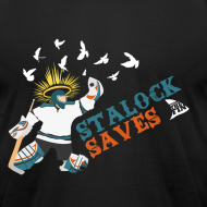 Design ~ Stalock Saves Men's Black AA Tee