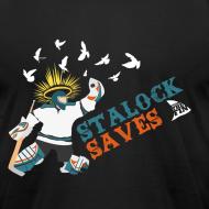 Design ~ Stalock Saves Men's Black AA Tee
