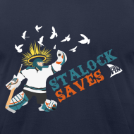 Design ~ Stalock Saves Men's Navy AA Tee