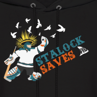 Design ~ Stalock Saves Men's Black Hoodie