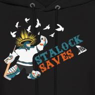 Design ~ Stalock Saves Men's Black Hoodie