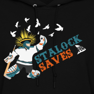 Design ~ Stalock Saves Women's Black Hoodie