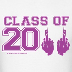 Class of 2011 FU Graduation Purple and white T-Shirts