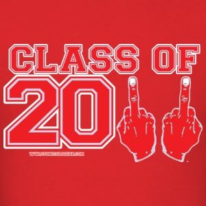 Class of 2011 FU Graduation Red and Grey T-Shirts - Men's T-Shirt