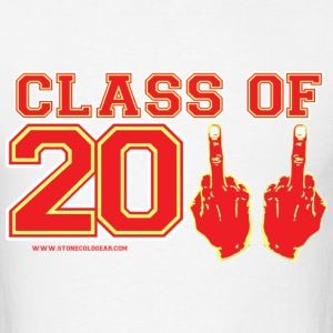 Class of 2011 FU Graduation Red and Yelllow T-Shirts - Men's T-Shirt