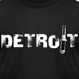 Detroit Switch Comb T-Shirts - Men's T-Shirt by American Apparel
