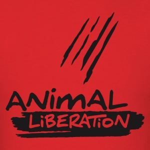 ANIMAL LIBERATION! Men - Men's T-Shirt