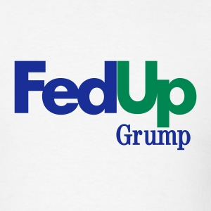 Fed Up Grump Lightweight T - Men's T-Shirt