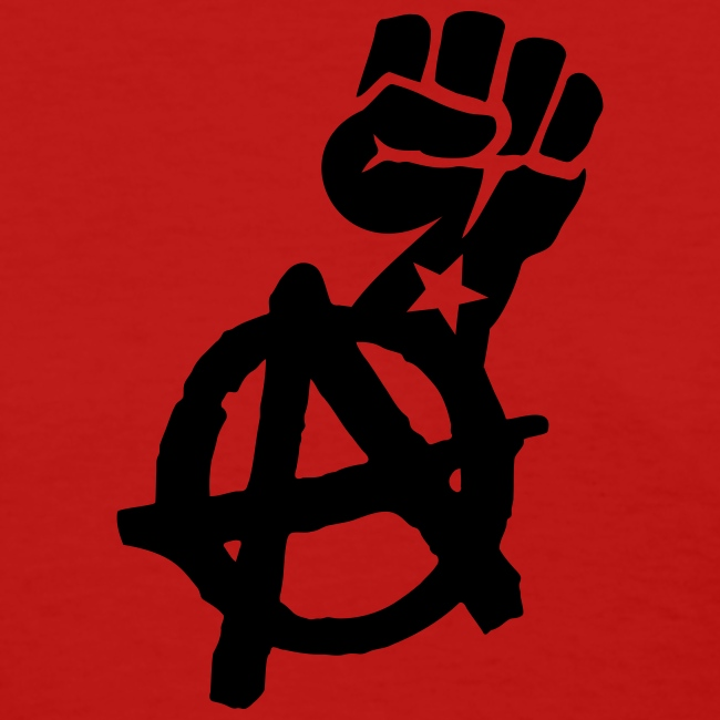 Anarchist Fist Women's Tee Shirt