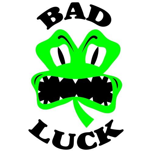 Irish Bad Luck Clover