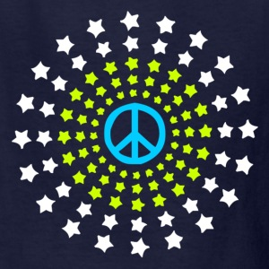 Peace Burst Color Kids' Shirts - Kids' T-Shirt
