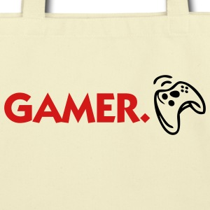 Gamer (2c) Bags  - Eco-Friendly Cotton Tote
