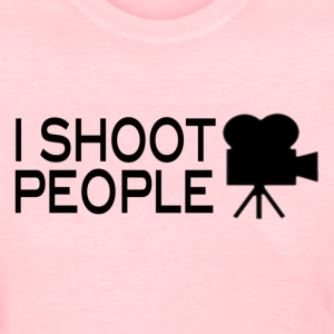 I•SHOOT•People Joke T-Shirt [womens] - Women's T-Shirt