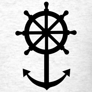 Ship anchor T-Shirts - Men's T-Shirt