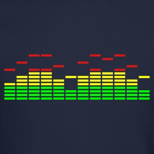 Equalizer Frequency DJ Sound Music Beat Pop Techno Long Sleeve Shirts - Crewneck Sweatshirt