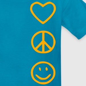 Love Peace Happiness Kids' Shirts - Kids' T-Shirt
